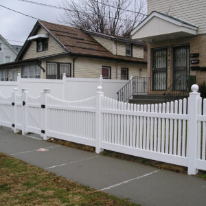 Hampton Scalloped Fence