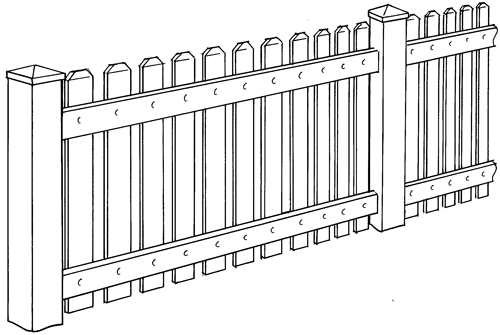 Hannibal Picket Fence Picture