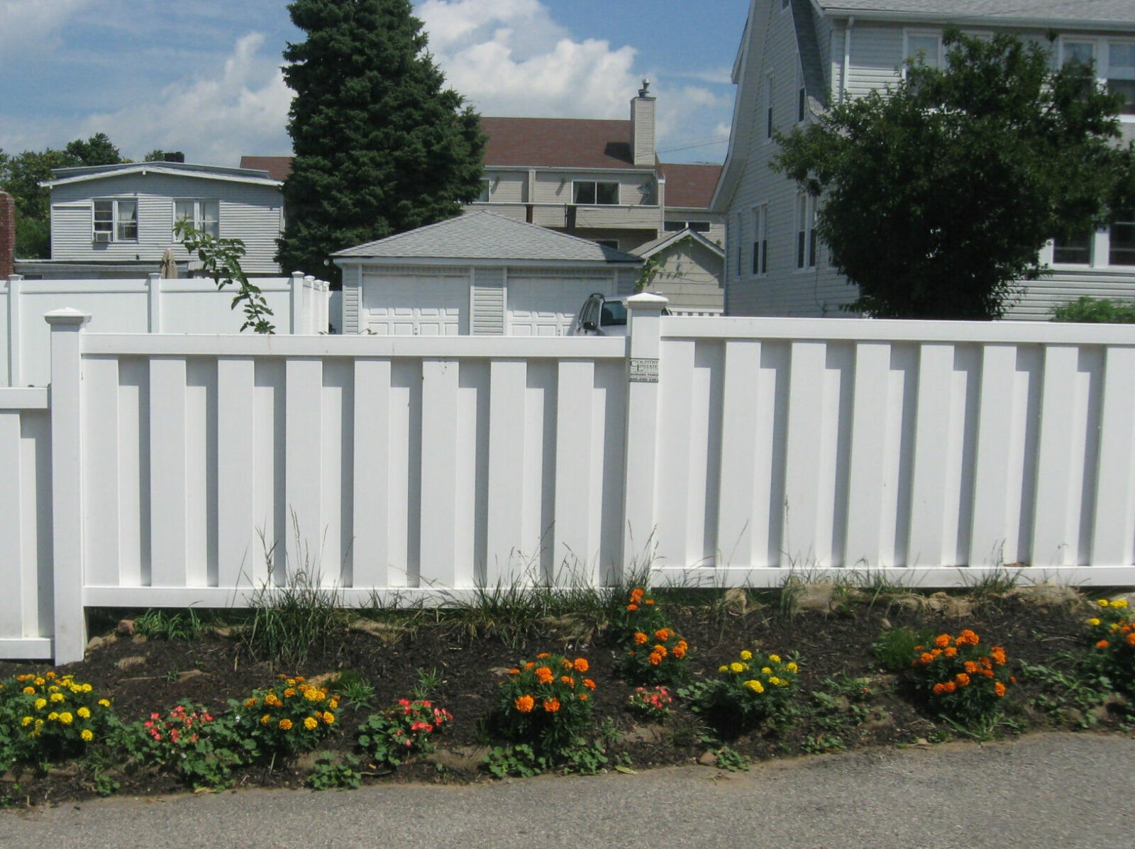 Melbourne Vinyl Privacy Fence Picture