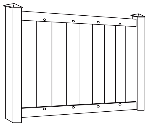 Lakeland IIa HVHZ fence line drawing