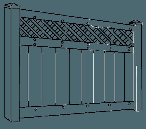 Hollingsworth IIa HVHZ fence line drawing