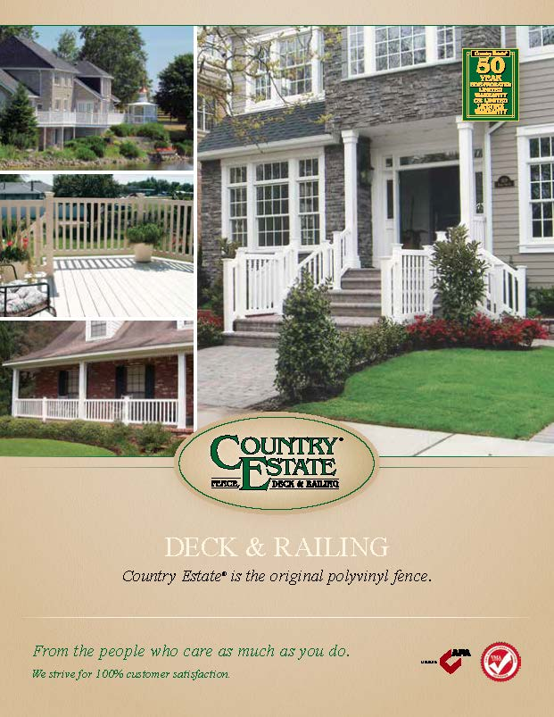 Vinyl Deck and Rail Brochure Cover
