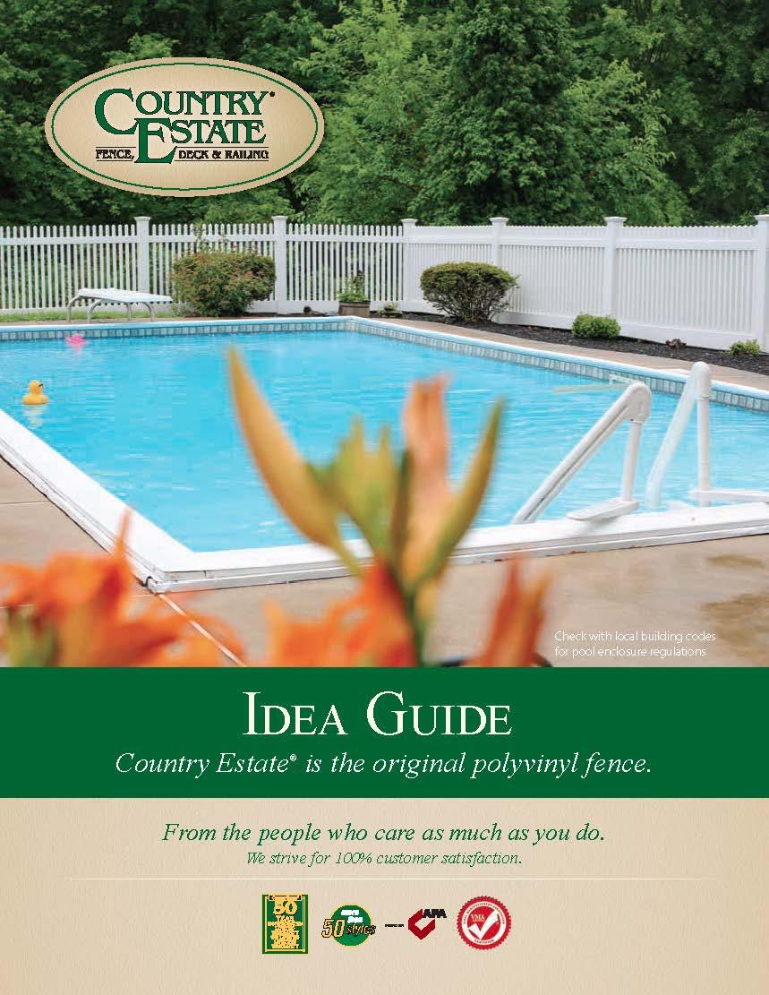 Vinyl Fence Idea Guide Cover