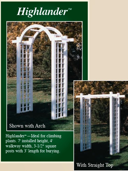 Picture of Highlander Vinyl Arbor