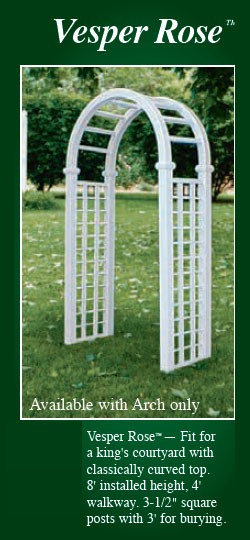 Picture of Vesper Rose Vinyl Arbor