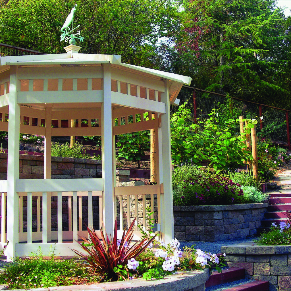 Picture of vinyl gazebo