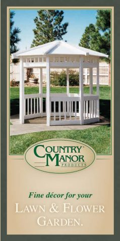 Country Manor Garden Products Brochure cover
