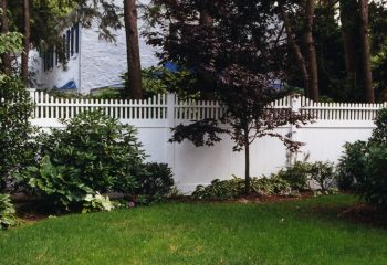 Montauk Point Step Privacy Fence Picture