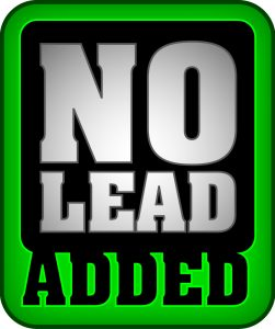 No lead added logo