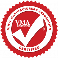 Vinyl Manufacturers Association certified logo